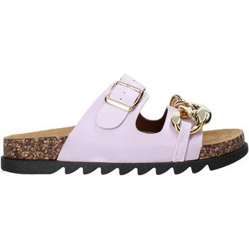 Cipők Női Papucsok Gold&gold A21 FL160 Ibolya