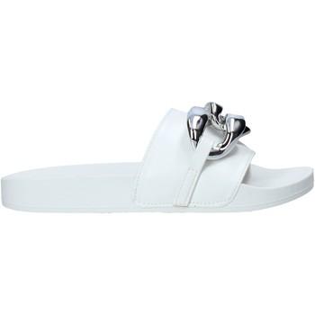 Cipők Női Papucsok Gold&gold A21 FL162 Fehér
