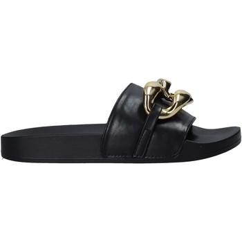 Cipők Női Papucsok Gold&gold A21 FL162 Fekete