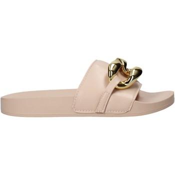 Cipők Női Papucsok Gold&gold A21 FL162 Rózsaszín