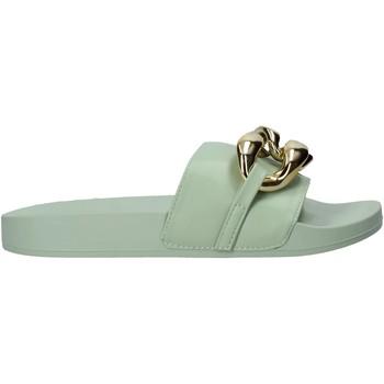 Cipők Női Papucsok Gold&gold A21 FL162 Zöld