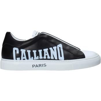 Cipők Férfi Rövid szárú edzőcipők John Galliano 11007/CP B Fekete