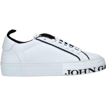 Cipők Férfi Rövid szárú edzőcipők John Galliano 11012/CP C Fehér