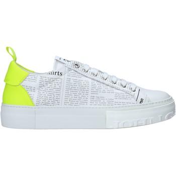Cipők Férfi Rövid szárú edzőcipők John Galliano 11016/CP A Fehér