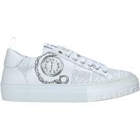 Cipők Férfi Rövid szárú edzőcipők John Galliano 11018/CP A Fehér
