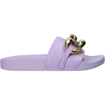 Cipők Női Papucsok Gold&gold A21 FL162 Ibolya
