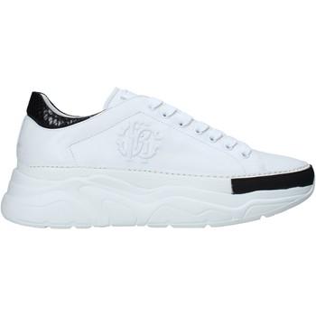 Cipők Férfi Rövid szárú edzőcipők Roberto Cavalli 10734 B Fehér