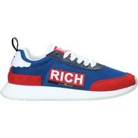 Cipők Férfi Divat edzőcipők John Richmond 1324 E Kék