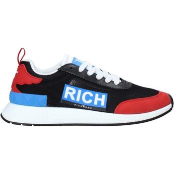 Cipők Férfi Divat edzőcipők John Richmond 1324 D Fekete