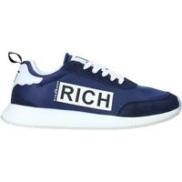 Cipők Férfi Rövid szárú edzőcipők John Richmond 1323 C Kék