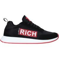 Cipők Férfi Divat edzőcipők John Richmond 1323 A Fekete