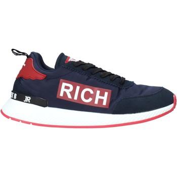 Cipők Férfi Rövid szárú edzőcipők John Richmond 210 A Kék