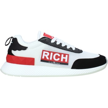 Cipők Férfi Divat edzőcipők John Richmond 1324 B Fehér