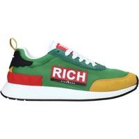 Cipők Férfi Divat edzőcipők John Richmond 1324 C Zöld