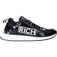 Cipők Férfi Divat edzőcipők John Richmond 203 A Fekete