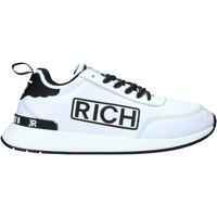Cipők Férfi Rövid szárú edzőcipők John Richmond 204 C Fehér