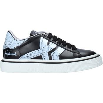 Cipők Férfi Rövid szárú edzőcipők John Richmond 1385 B Fekete
