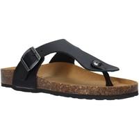 Cipők Női Lábujjközös papucsok Docksteps DSW229000 Fekete