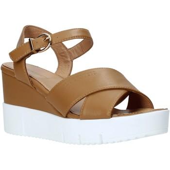 Cipők Női Szandálok / Saruk Docksteps DSW952001 Barna