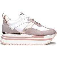 Cipők Női Rövid szárú edzőcipők Alberto Guardiani AGW004302 Fehér