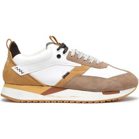 Cipők Férfi Rövid szárú edzőcipők Alberto Guardiani AGU101061 Fehér
