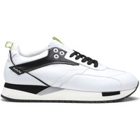 Cipők Férfi Rövid szárú edzőcipők Alberto Guardiani AGU101155 Fehér