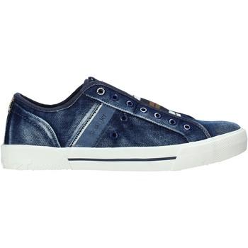 Cipők Férfi Rövid szárú edzőcipők Wrangler WM01050A Kék