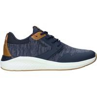 Cipők Férfi Divat edzőcipők Wrangler WM01072A Kék