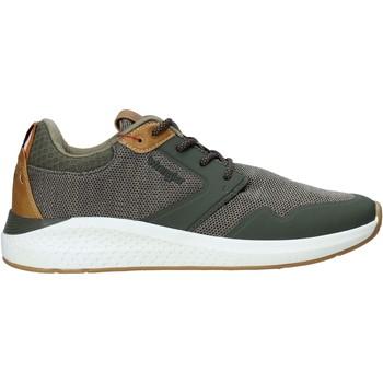 Cipők Férfi Divat edzőcipők Wrangler WM01072A Zöld