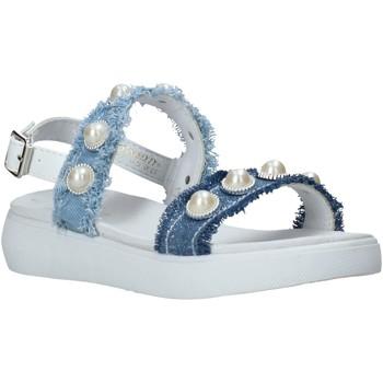 Cipők Lány Szandálok / Saruk Miss Sixty S20-SMS773 Kék