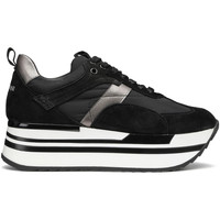 Cipők Női Rövid szárú edzőcipők Alberto Guardiani AGW004303 Fekete