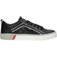 Cipők Férfi Rövid szárú edzőcipők Wrangler WM01033A Fekete