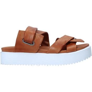 Cipők Női Papucsok Sshady MRT343 Barna