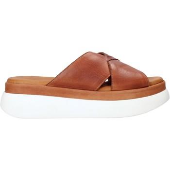 Cipők Női Papucsok Sshady L2206 Barna