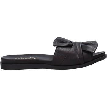 Cipők Női Papucsok Sshady MRT231 Fekete