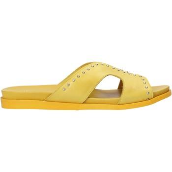 Cipők Női Papucsok Sshady MRT233 Sárga