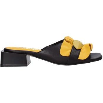 Cipők Női Papucsok Sshady MRT303 Fekete