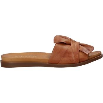 Cipők Női Papucsok Sshady MRT231 Barna