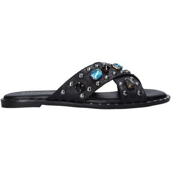 Cipők Női Papucsok Sshady MRT510 Fekete