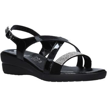Cipők Női Szandálok / Saruk Susimoda 243640 Fekete