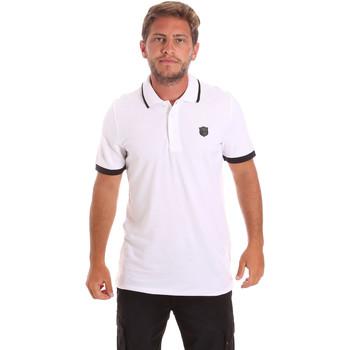 Ruhák Férfi Rövid ujjú galléros pólók Roberto Cavalli FST692 Fehér