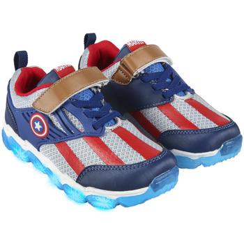 Cipők Fiú Rövid szárú edzőcipők Avengers 2300004621 Azul