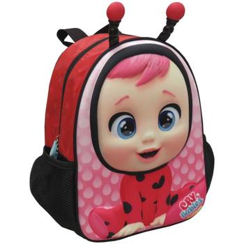 Táskák Lány Hátitáskák Bebes Llorones MC-201-CR Rosa