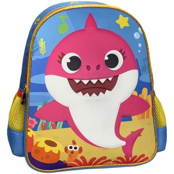 Táskák Lány Hátitáskák Baby Shark MC-02-BS Multicolor