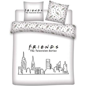 Otthon Gyerek Takaró huzat Friends 63788 Blanco