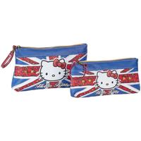 Táskák Női Tokok Hello Kitty 45431 Azul