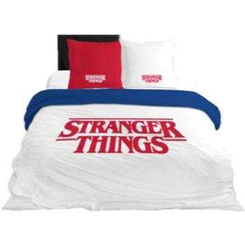 Otthon Gyerek Takaró huzat Stranger Things 64112 Blanco
