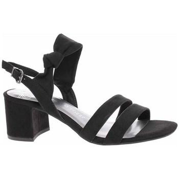 Cipők Női Szandálok / Saruk Marco Tozzi 222830024001 Fekete