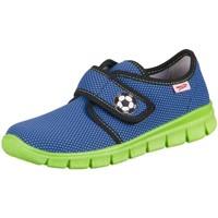 Cipők Gyerek Rövid szárú edzőcipők Superfit Bobby Water Kombi Textil Kék