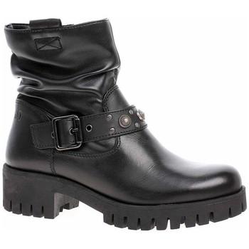 Cipők Női Bokacsizmák S.Oliver 552540221001 Fekete